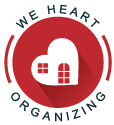 We Heart Organizing Logo
